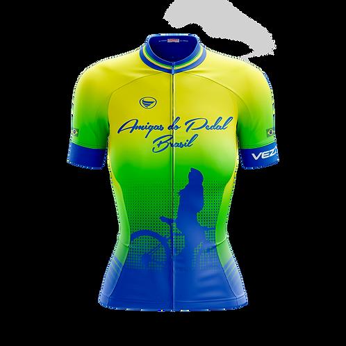 Camisa Feminina Elite -  Amigas do Pedal Brasil
