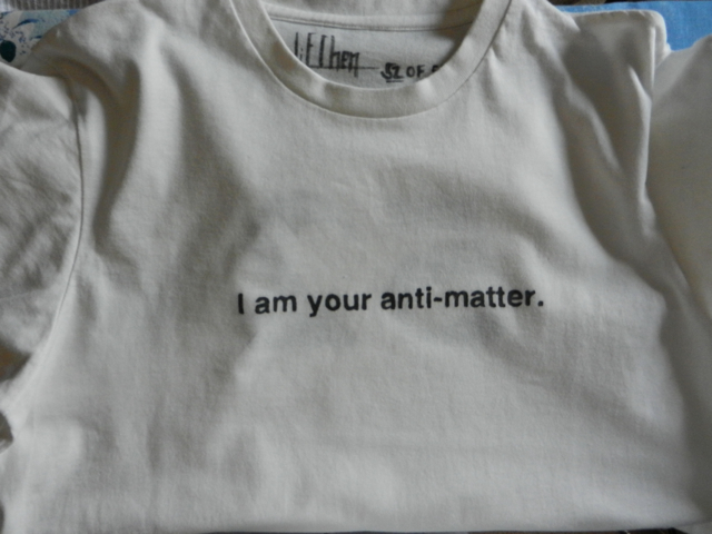 Li-E Chen: I am your anti-matter