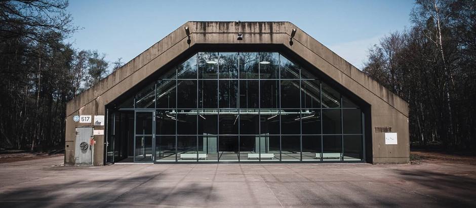 Transformatie F16 shelter
