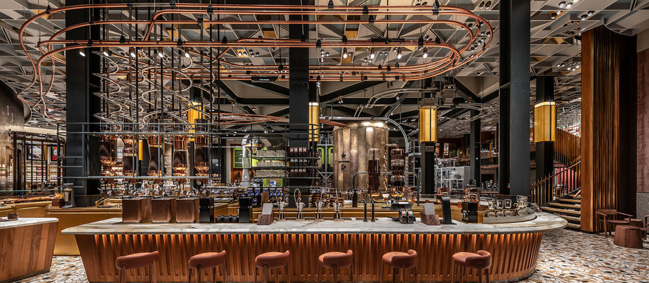 STARBUCKS - Roastery Honors Italian Espresso Culture, Design and Craft