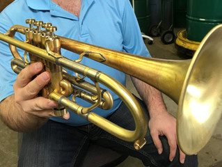 OUR FIRST EVER CUSTOM QUARTER-TONE TRUMPET!