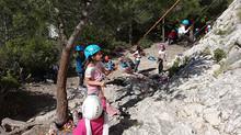 Photos stage escalade enfants Pâques 2014