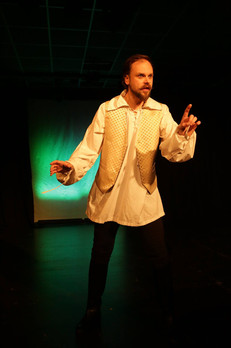 Daniel Barry as 'The Botanical Prince', from 'Fairy Tales For Grown Ups'