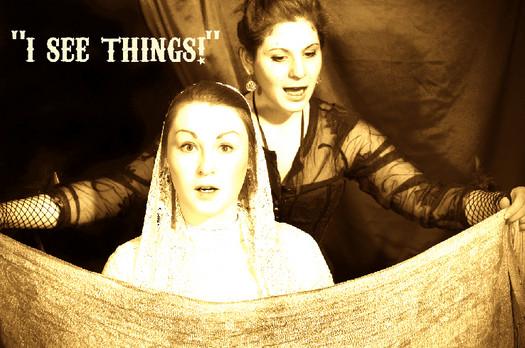Annie Drewry (Danielle Nott) and Mary McCready (Gloria Sanders), from 'The Molly Room'