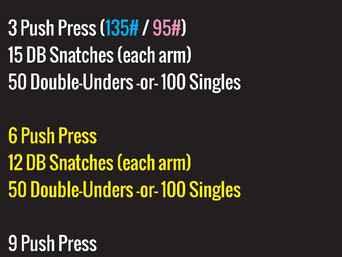 1RM PUSH PRESS