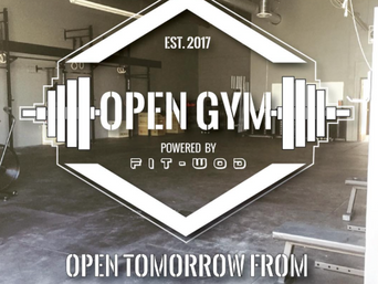 SOFT OPENING THIS SATURDAY