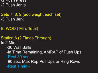 RELEARNING THE PUSH JERK