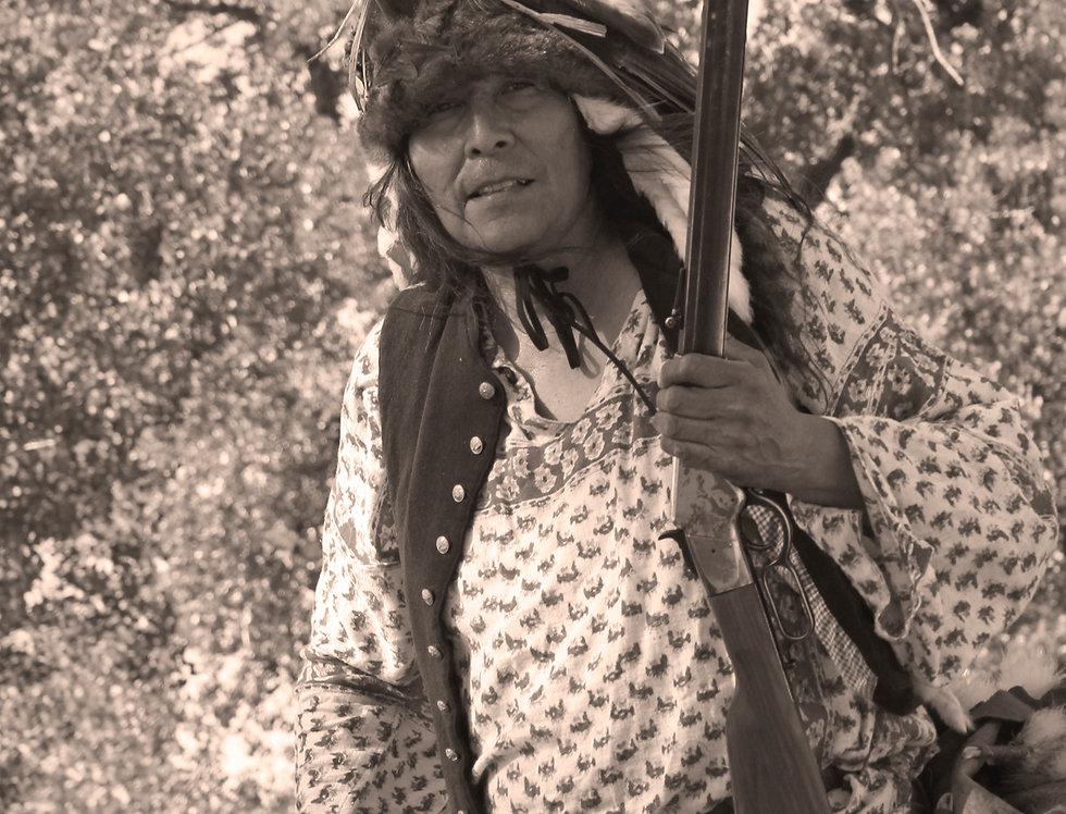 Thomas White Eagle portrays Chief Roman Nose