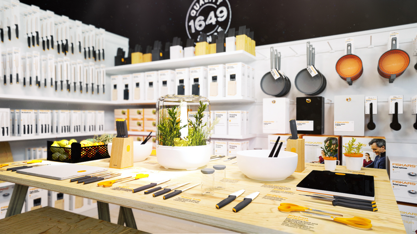 Fiskars showroom