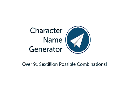 The logo for the Character Name Generator
