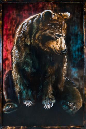 Fire Bear   Sold