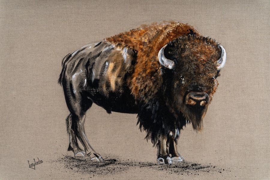 Standing Bison