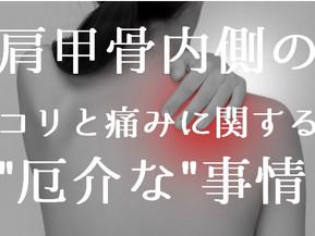 """肩甲骨内側のコリと痛みに関する"""" 厄介な """"事情(五反田 鍼灸院)"""
