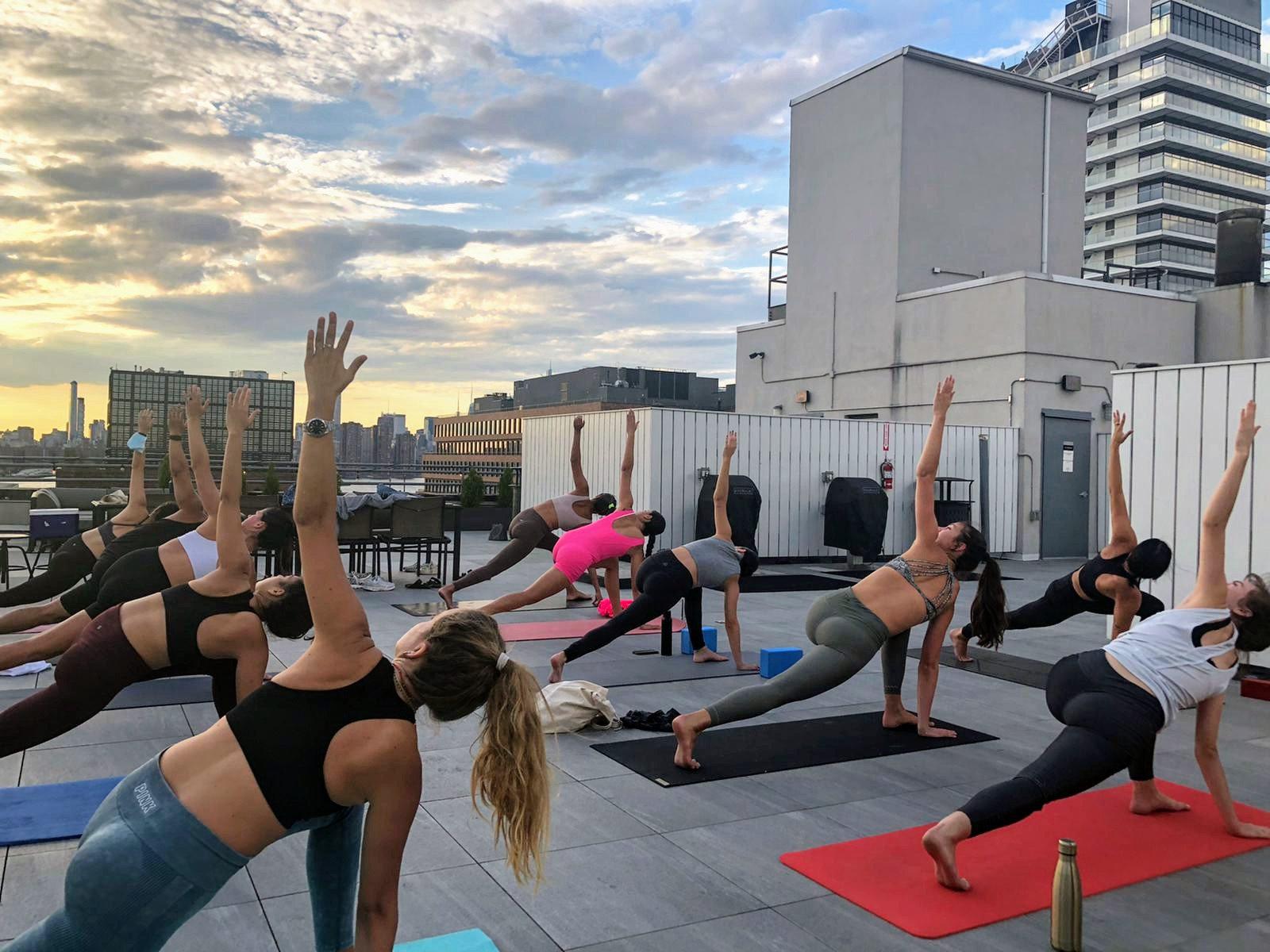 Super Secret Rooftop Yoga