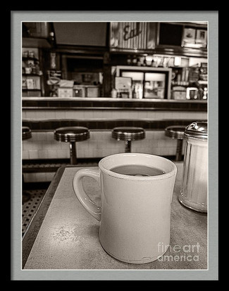 Cup of Joe at the diner