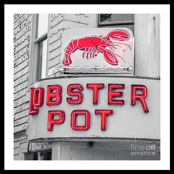 Lobster Pot Neon Sign