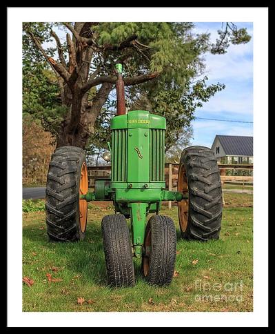 Vintage John Deere Tractor