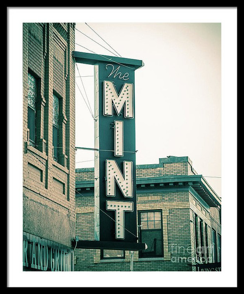 The Mint - classic neon sign