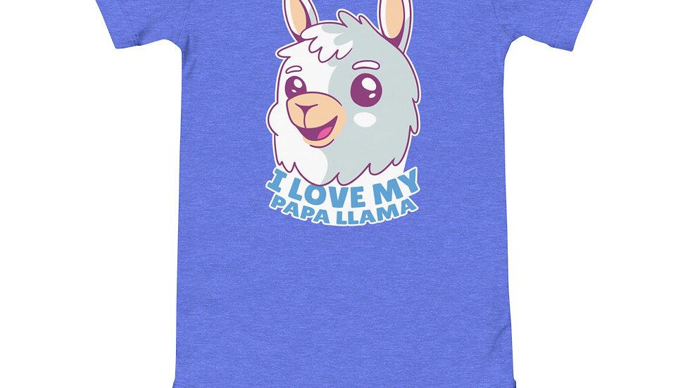 Papa Llama   Baby short sleeve