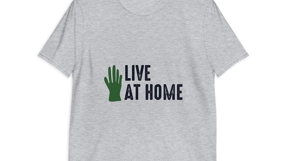 Garden - Live at home | Short-Sleeve Unisex T-Shirt