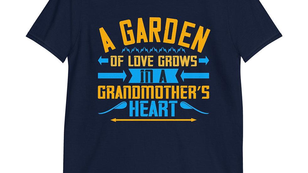 A garden of love grows in a grandmother's heart | Short-Sleeve T-Shirt | Men
