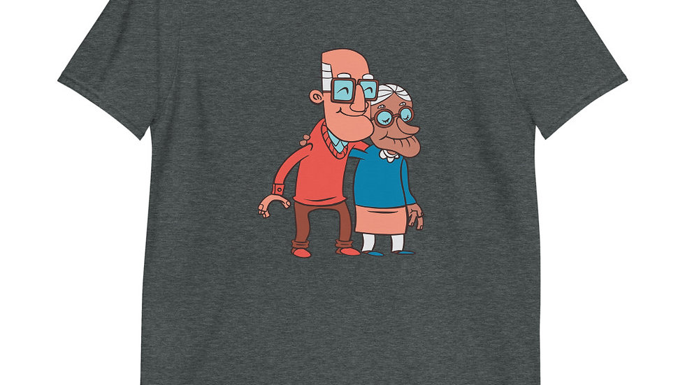 Grandma and Grandpa   Short-Sleeve T-Shirt   Men