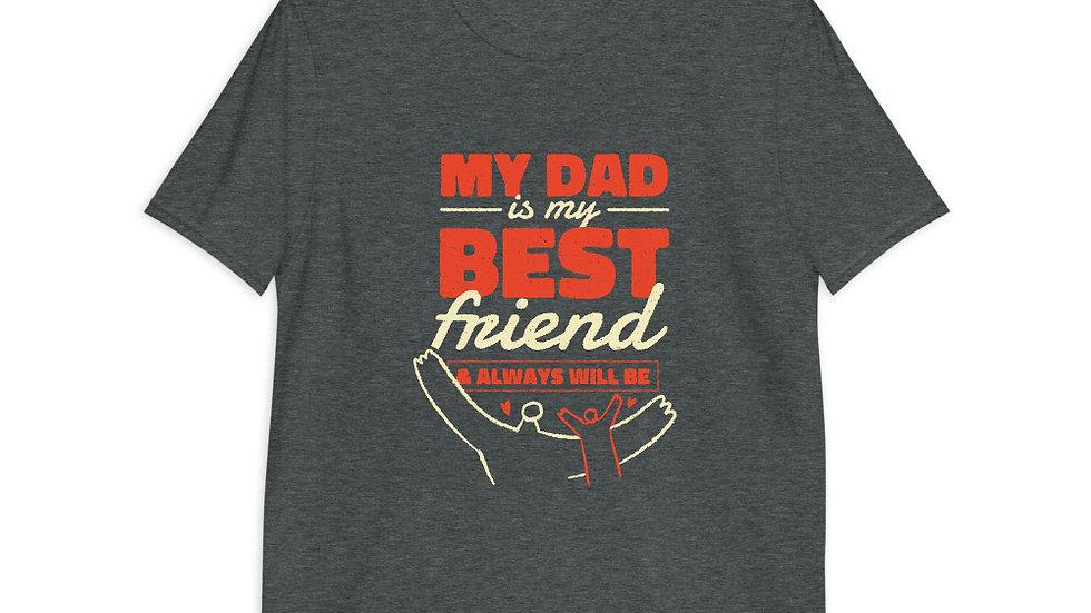 Dad Best Friend | Short-Sleeve T-Shirt | Men-Boys