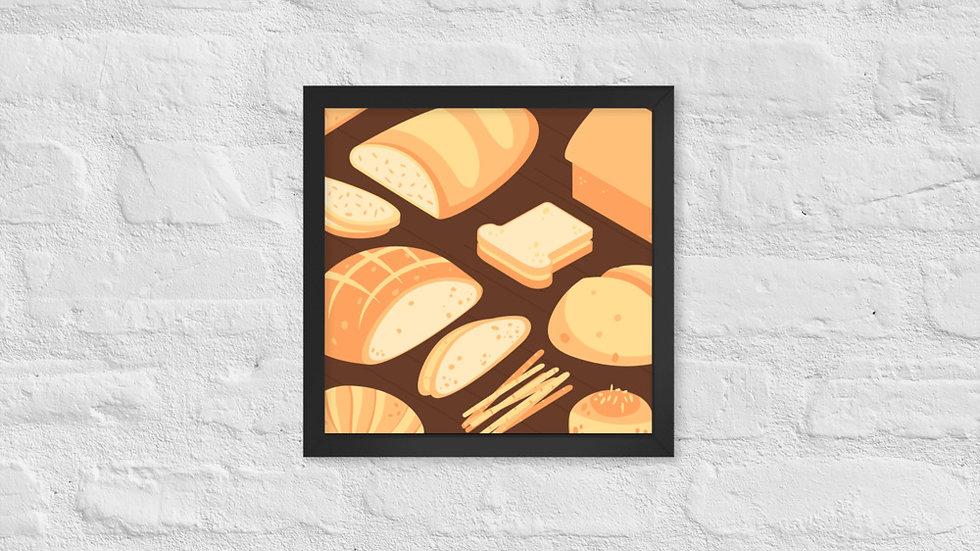 Framed poster | Bread