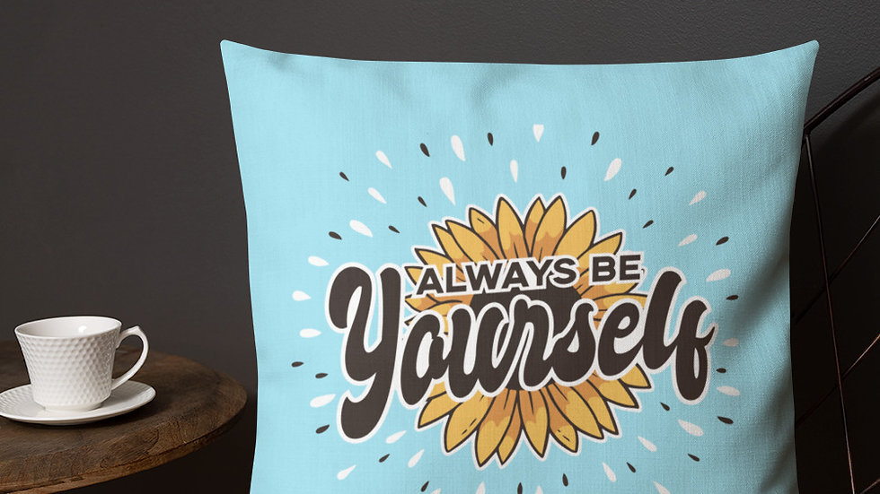 Premium Pillow | Be Yourself