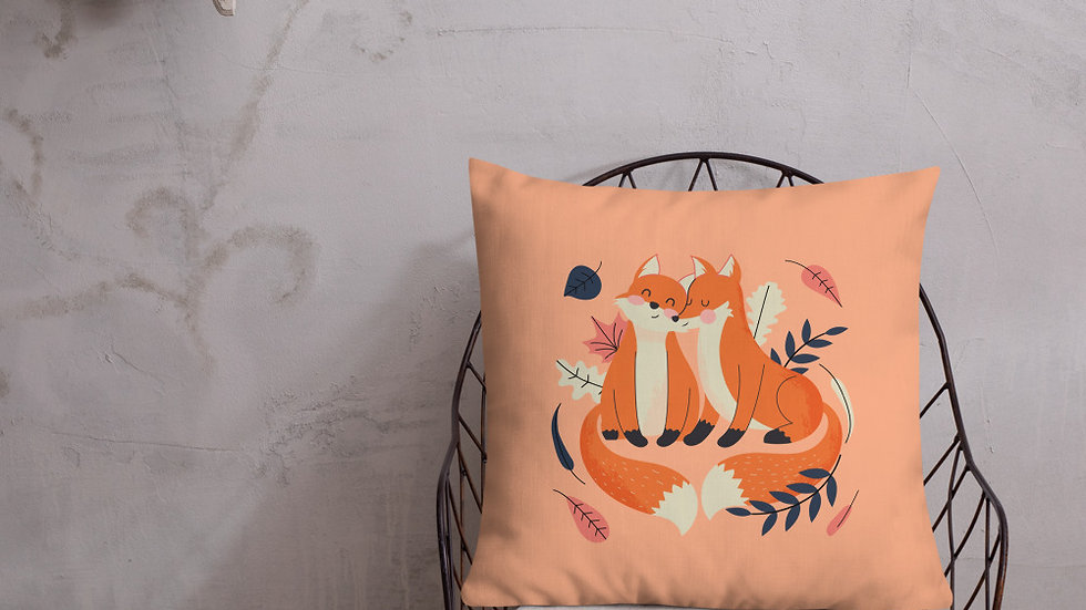 Premium Pillow | Orange