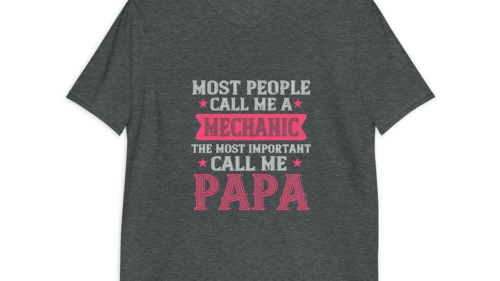 Most people call me mechanic | Short-Sleeve T-Shirt | Men