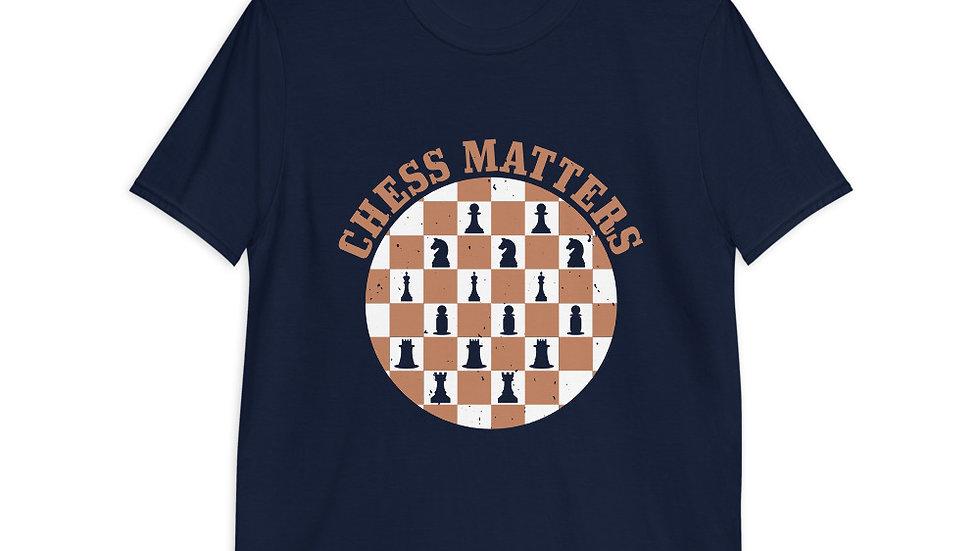 Chess Matters | Short-Sleeve T-Shirt | Men