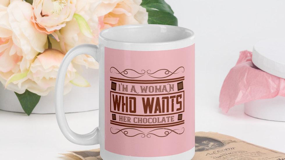 Pink Glossy Mug