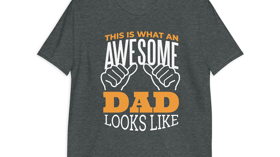 Awesome Dad | Short-Sleeve T-Shirt | Men