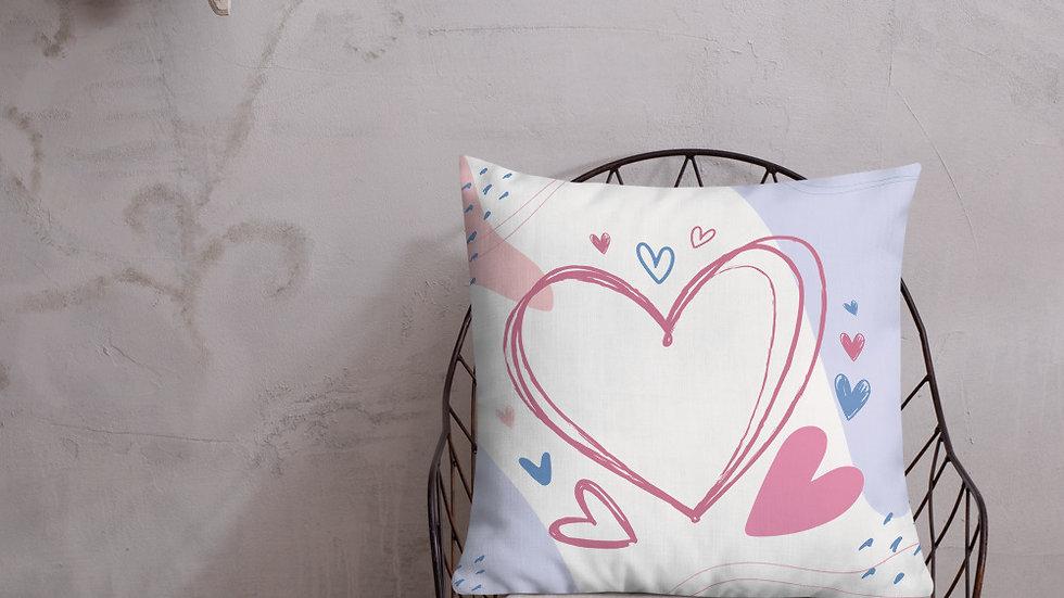 Premium Pillow | Love | Heart