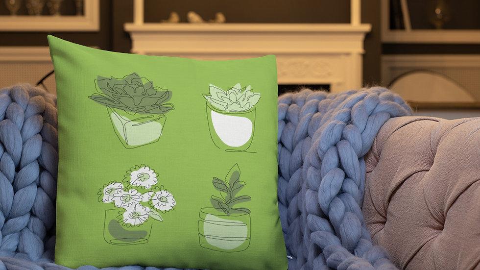 Premium Pillow | Green
