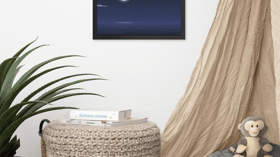 Framed poster   Full Moon