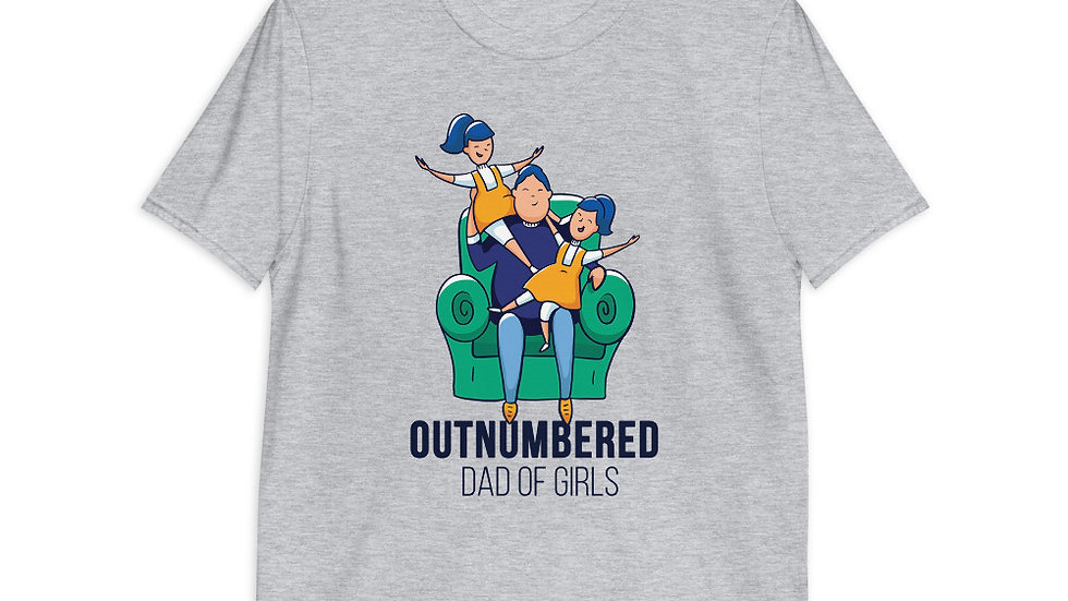 Outnumbered Dad | Short-Sleeve T-Shirt | Men