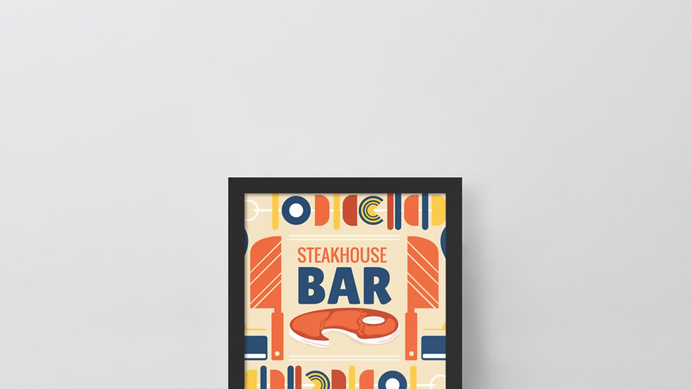Framed poster | BBQ