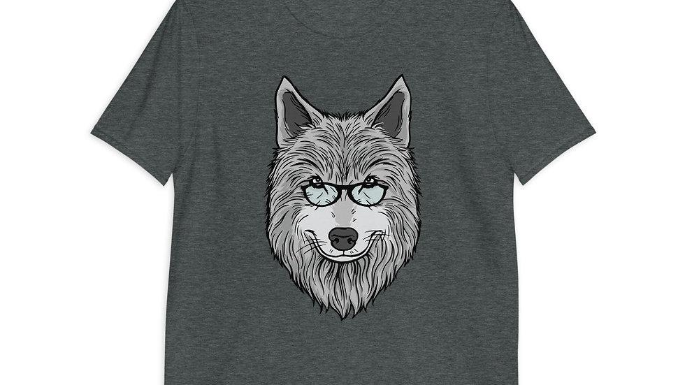Wolf Dad T-Shirt   Short-Sleeve   Men