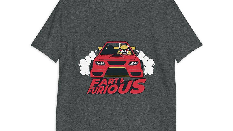 Fart and Furious | Cars | Short-Sleeve Unisex T-Shirt