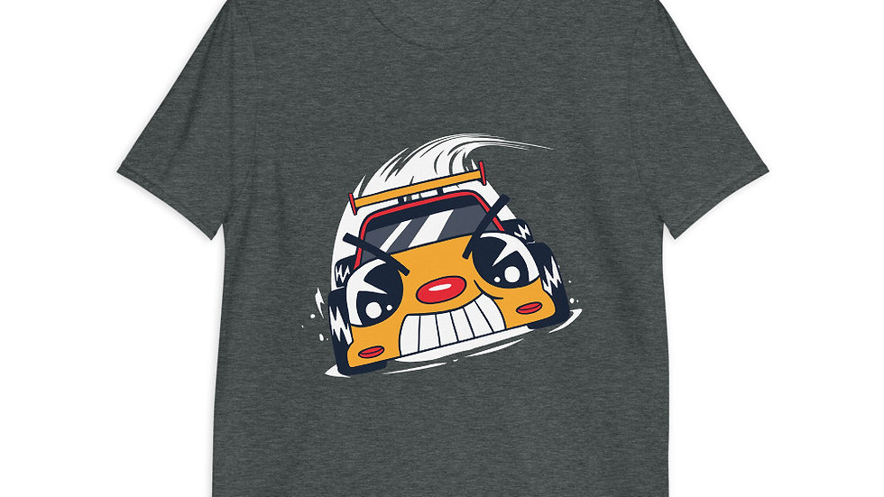 Race Car Cartoon | Short-Sleeve Unisex T-Shirt