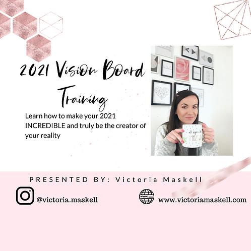 Vision Board Training