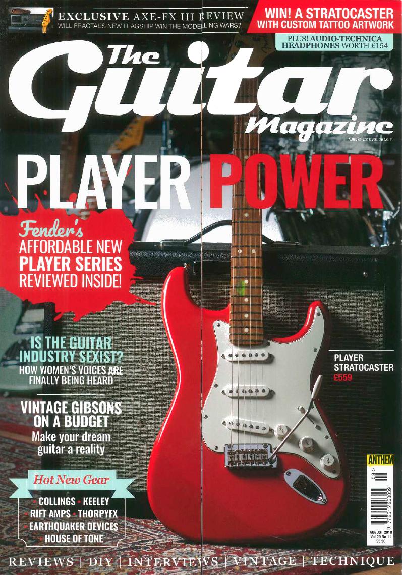 Guitar Magazine - August 2018