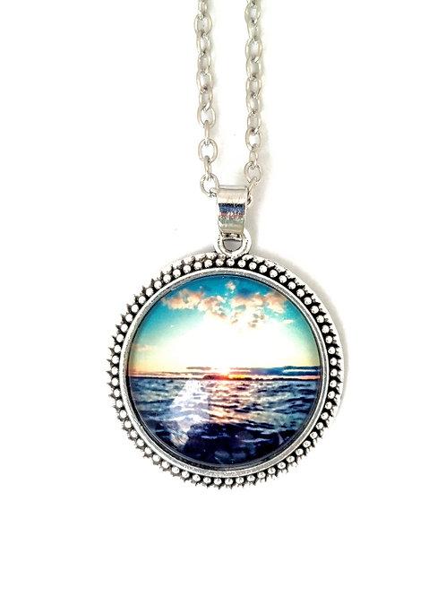 Joyful: Sunset Photo Necklace