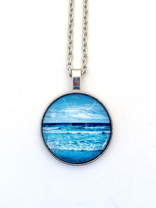 Ocean Calling: Ocean Photo Necklace