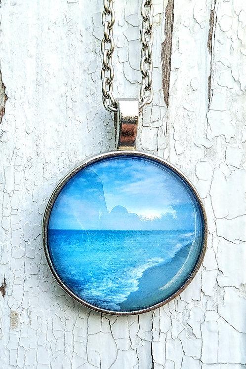 Breathe: Ocean Photo Necklace