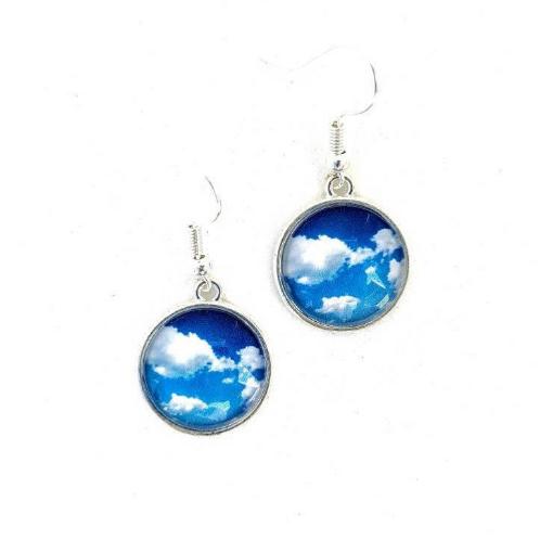Float with Me:  Sky Earrings