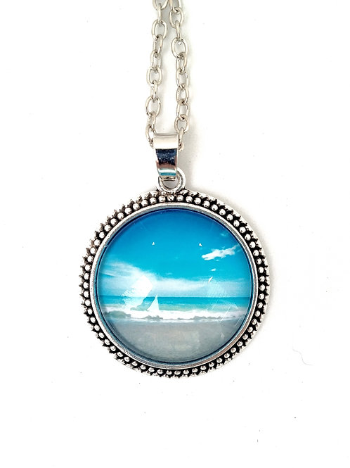 Blessings: Perfect Beach Day Photo Necklace