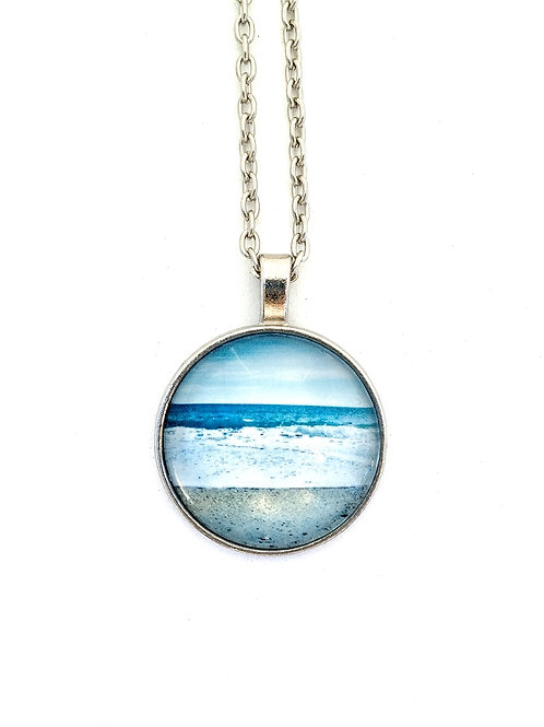 Here & Now:  Ocean Photo Necklace